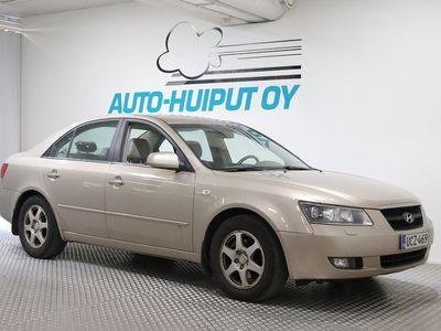 käytetty Hyundai Sonata 2,0 CRDi GLS *** Juuri tullut / Vetokoukku / Autm. ilmastointi / Suomi-auto ***