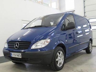 gebraucht Mercedes Vito 109 CDI Aj. 135 tkm, Suomi-auto Sis.alv Rahoitus ilman käsirahaa.