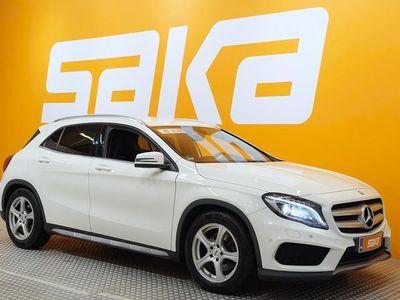 käytetty Mercedes GLA220 CDI 4Matic A AMG-styling ** HIENO / ILS / NAVI / Tutkat / Nahka-alcantara / S-luukku **