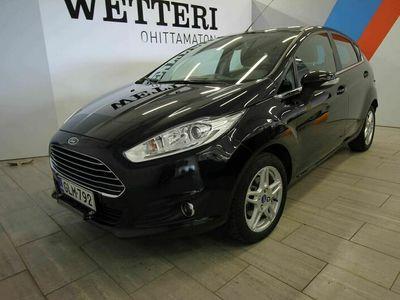 käytetty Ford Fiesta 1,0 EcoBoost 100 S/S Titanium 5ov (MY14 'Metalli musta siisti*