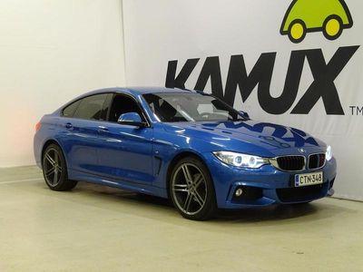 käytetty BMW 420 Gran Coupé F36 420i A xDrive Business M Sport // Xenon ajovalot / Nahka-alcantra / Sporttipenkit / N