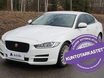 käytetty Jaguar XE *KUNTOTARKASTETTU*E-Performance Prestige Plus A. Tarkastettuna, Rahoituksella, Kotiin toimitettuna!