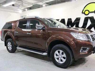 käytetty Nissan Navara Double Cab 2,3 dCi 190hp AT Tekna Ltd Sunroof, leather / Koukku / Lavakate / Huippu varusteet!