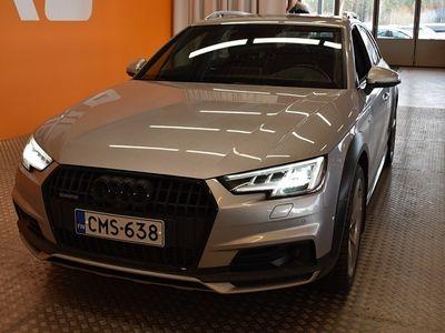 käytetty Audi A4 Allroad Business 3,0 TDI 200 kW quattro S tronic ** Huippuvarusteet! / MMI Navi / Vetokoukku / Virtuaalimitt