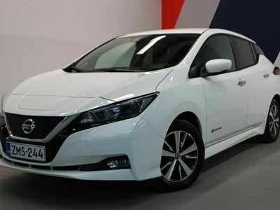 käytetty Nissan Leaf Acenta 40 kWh FI // Sähköistä ajoa! / Adap.vakionopeudensäädin / Navi / Peruutuskamera / ZMS-244 | Laakkonen