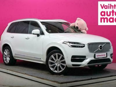 käytetty Volvo XC90 T8 Twin Engine AWD Inscription aut #Webasto #Panorama #Nappanahat muistilla #Pilot assist #Adapt.Cruise #Keyless