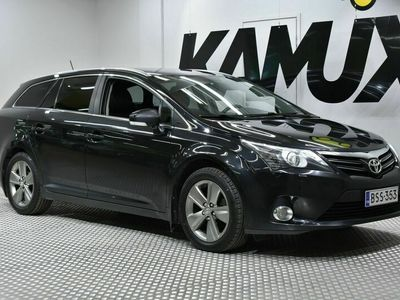 käytetty Toyota Avensis 1,8 Valvematic Active Edition Wagon Multidrive S / Lohkolämmitin / Peruutuskamera / Navi / Bluetooth audio / Nahka-Alcantara / Uudet kesärenkaat! / automaattinen ilmastointi / vakionopeussäädin / äänentoiston hallinta ohjauspyörässä