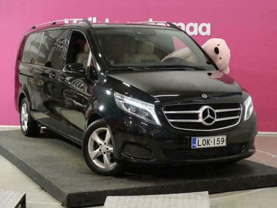 käytetty Mercedes V220 d pitkä A3 A Avantgarde # Navi # Ambient # Huippuvarusteet # LED ILS