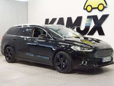 käytetty Ford Mondeo 2,0 187hv eCVT Titanium HEV Wagon Hybrid ** FACELIFT // TAKUU // MUKAUTUVA VAKKARI / PERUUTUSKAMERA