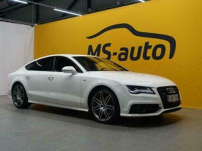 käytetty Audi A7 S line edition 3,0 V6 TDI Biturbo 230 kW quattro tiptronic #JuuriTullut #Huippuhieno #Harvinainen