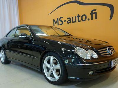 käytetty Mercedes CLK320 Coupe A Elegance #Juuri huollettu #Tyylikäs #Vakkari #Nahkapenkit