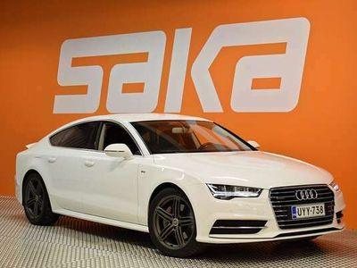 käytetty Audi A7 Business Sport 3,0 V6 TDI 160 kW quattro S tronic ** S-LINE -ulkp. / GSM-Eber / Ilma-alusta / MMI+ / Matrix -LED **