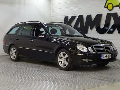 käytetty Mercedes E320 CDI 4Matic A / Nahkasisusta / Kattoluukku / Vetokoukku