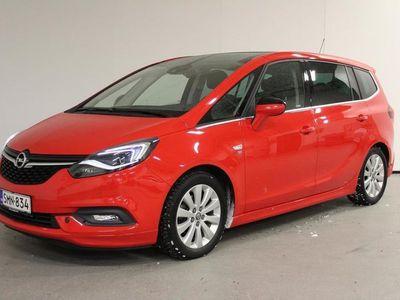 käytetty Opel Zafira ZAFIRA Innovation 1,4 Turbo 103 A - Huippu siisti 1-omistajan OPC-lineerittäin kovilla varusteilla!