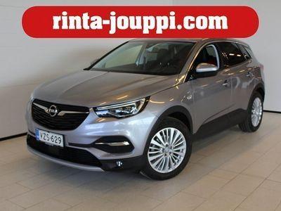 käytetty Opel Grandland X Innovation 1,6 CDTI S/S 88 A - 1-omistaja / Navi / Lämmitettävä tuulilasi / AGR-istuimet / Avaimeton
