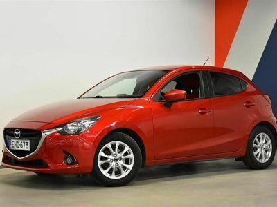käytetty Mazda 2 5HB 1,5 (90) SKYACTIV-G Premium Plus Red 5MT 5ov (Nätti yksilö!)