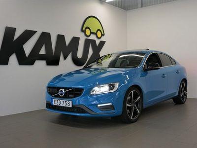 käytetty Volvo S60 D5 Polestar | R-Design | Kattoluukku | Navi | Peruutuskamera | 2x-renkaat | 230hv