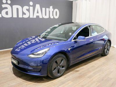 käytetty Tesla Model 3 Long-Range Dual Motor AWD ** Autopilot-Panorama lasikatto-Nahkaverhoilu-Neliveto** **** LänsiAuto Safe -sopimus hintaan 590€. ****