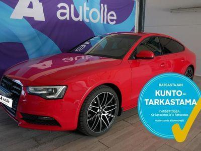 käytetty Audi A5 Sportback *KOTIINTOIMITUS*2.0TFSI Black Edition Q 155kW Aut. Tarkastettuna, Rahoituksella, Kotiin to