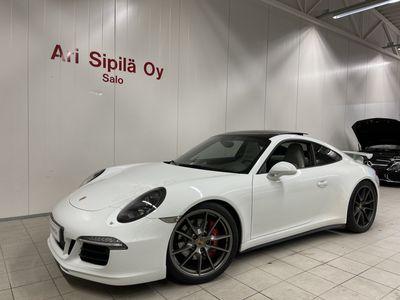 käytetty Porsche 911 Carrera 4S HUIPPUVARUSTEILLA 4S AEROKIT PANORAMA20 PASM SPORT CHRONO CRUISE NAVI YM YM