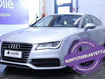 käytetty Audi A7 *KORKOKAMPANJA!* S line edition 3,0 V6 TDI BiTbo Q A M13 Tarkastettuna, Rahoituksella, Kotiin toimit