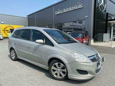 käytetty Opel Zafira 5-ov Enjoy Edition 1,9 CDTI DPF 88kW/120hv A6 ActiveSelect **7-paikkainen vetokoukulla**