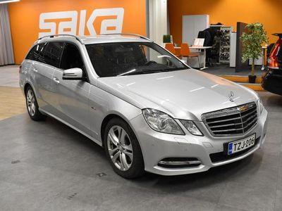 käytetty Mercedes E350 CDI BE T A Premium Business 265Hv ** Distronic Plus / Webasto / Ortopedi penkit / ILS / Comand N