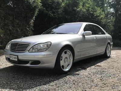 käytetty Mercedes S600 LANG V12 BITURBO 500hv