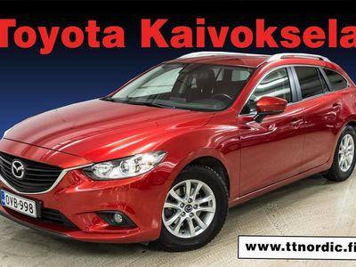 käytetty Mazda 6 Sport Wagon 2,2 150 SKYACTIV-D Prem ZD2 * Korko 0,9% / Käsiraha alk. 0e*