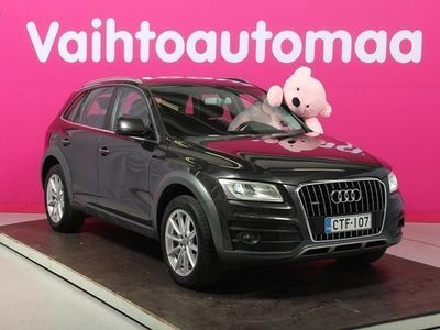käytetty Audi Q5 Offroad Land of q Edt 2,0 TDI 140 / Webasto / Urheilupenkit / Vetokoukku / Sähköinen takaluukku