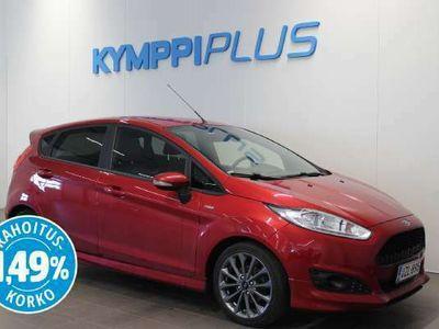käytetty Ford Fiesta 1,0 EcoBoost 140hv Start/Stop M5 ST-line 5-ovinen - ** RAHOITUSKORKO 1,49% ** - Juuri huollettu / Lämmitin / Tutka / Nätti!