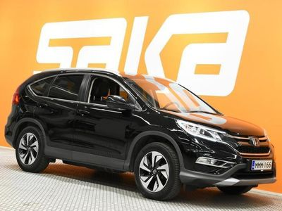 käytetty Honda CR-V 1,6 Diesel Executive ADAS Sensing AT ** 1.Om-Suomiauto / Lisälämmitin / Lasikatto / KeyLessGo / Navi