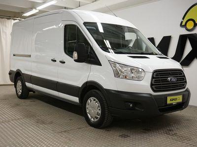 käytetty Ford Transit 350 2,0 TDCi 130 hv L3 H2 ** Alv / Navi / Huoltokirja / Kaistavahti **