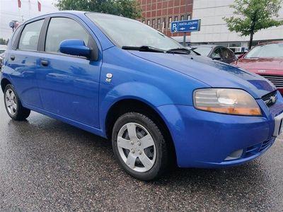 käytetty Chevrolet Kalos 1,2 8V SE AC 5d, 1-omistaja/ AC/ täysi huoltokirja