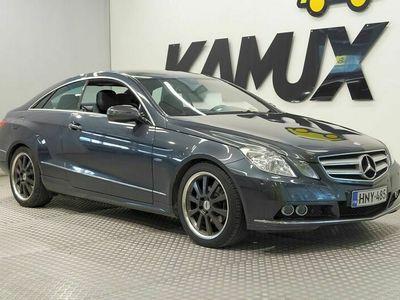 käytetty Mercedes E250 ECGI Coupe / Tutkat / Navi / Sport-penkit