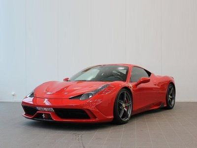 käytetty Ferrari 458 Speciale, Keraamiset Jarrut, Kilpaistuimet, Hiilikuitupaketti, Navigointi, Alcantara-sisusta
