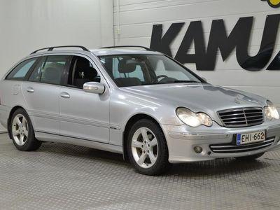 käytetty Mercedes C220 CCDI Farmari (AC) 5ov 2148cm3 **Ortopedi etuistuimet,Vetokoukku,Lohkolämppäri**