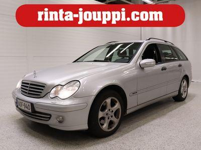 käytetty Mercedes C200 CDI A - Suomiauto vetokoukulla!