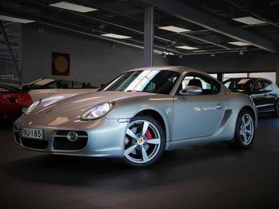 käytetty Porsche Cayman S Tiptronic, Sport Chrono Plus, Navigointi, Pysäköintitutkat, Istuinlämmitys, Täysnahkaverhoilu