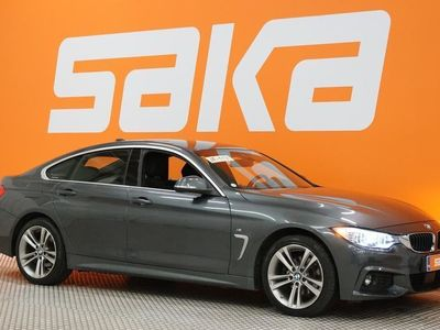 käytetty BMW 420 Gran Coupé F36 420d A xDrive Business M-SPORT 190HV ** Adapt.cruise / HarmanKardon / Prof.navi / HUD