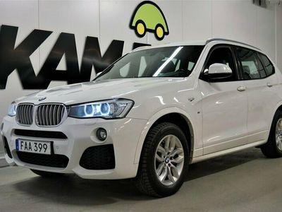 käytetty BMW X3 xDrive30d Steptronic | M-Sport | Shadow-Line | Vetokoukku | 258hv