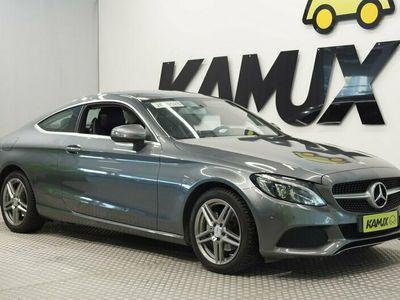 käytetty Mercedes C200 Coupé A / Led-valot / Koukku / Sport-penkit / Siisti