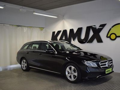 käytetty Mercedes E220 T A Premium Business ## NAHAT, PERUUTUSKAMERA, BT, XENON ##