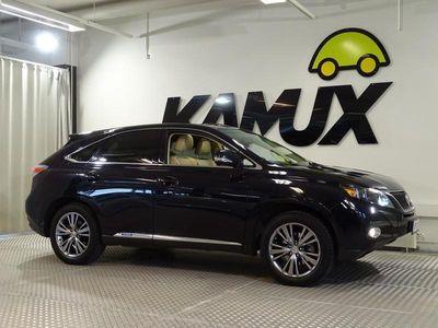 käytetty Lexus RX450h Hybrid 4WD A / Navigointi / Peruutuskamera / Kattoluukku / Sähköpenkki