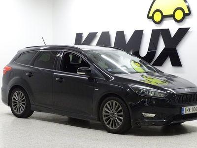 käytetty Ford Focus 2,0 TDCi 150 hv Start/Stop M6 ST-Line Wagon / Vetokoukku / Suomi-auto / Park Assist / Vakkari /