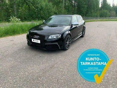 käytetty Audi RS3 Sportback *KOTIINTOIMITUS*2.5 TFSI Sportback quattro 250kW Aut. Tarkastettuna, Rahoituksella, Kotiin toimitett