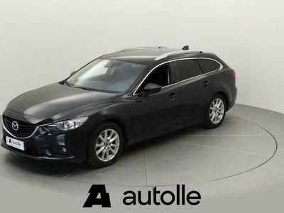 käytetty Mazda 6 *SIISTI* Sport Wgn 2,0 165 SKYACTIV-G Prem+ Bsn A Tarkastettuna, Rahoituksella, Kotiin toimitettuna!