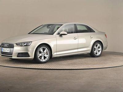 käytetty Audi A4 Sedan Land of q Edit2 2,0 TDI 140 S tro- Comfort paketti, Kommunikaatio paketti, Vetokoukku -