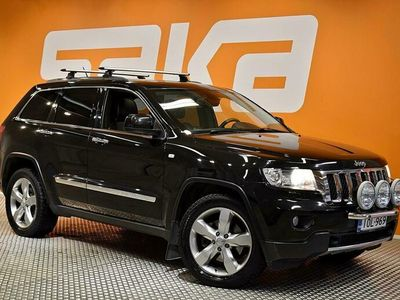 käytetty Jeep Grand Cherokee 3,6 V6 Aut 4wd Overland Panorama /