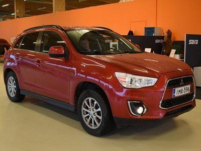 käytetty Mitsubishi ASX 2,2 DI-D Cleartec Invite 4WD 6AT ** 1-Om Suomi-auto / Merkkihuollettu / Vetokoukku / Lohkolämmitin *